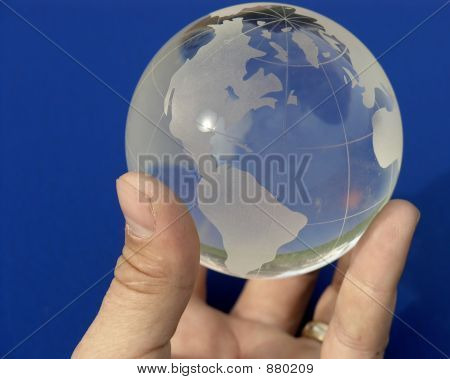 The Whole World On Blue
