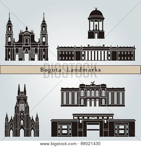 Bogota Landmarks And Monuments