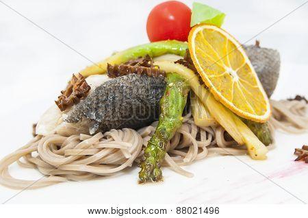 baked fish fillets