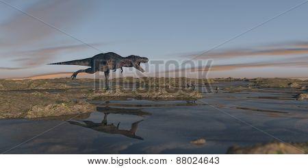 tarbosaurus hunting