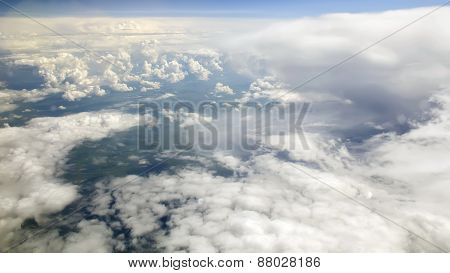 Earth From Clouds