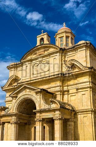 Church Of St Catherine In Valletta - Malta