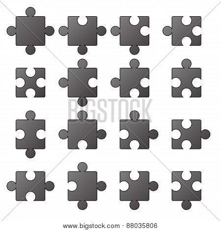 Jigsaw Icons