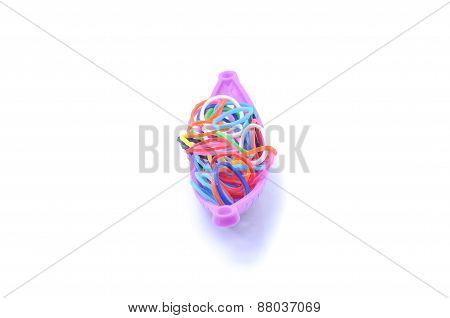 Mixed Color Rubber Loops