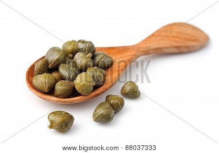 Capers Vegetables On Texture
