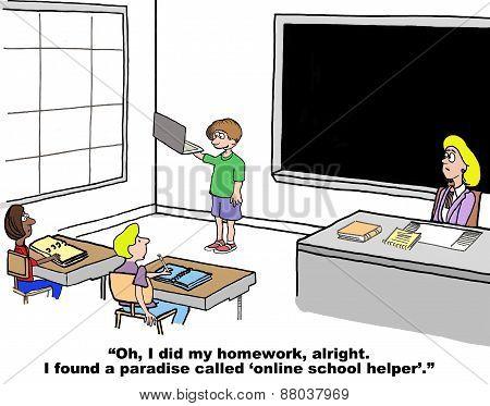 Online School Helper