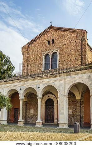 Basilica Of Sant Apollinare Nuovo, Ravenna. Italy