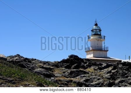 Lighthouse In The Costa Brava
