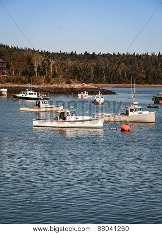 Fishing boats maine