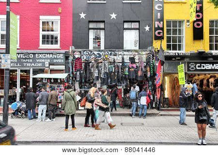 Camden Shopping, London