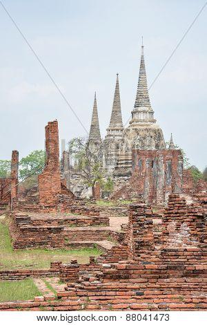 Wat Phra Sri Sanphet, Ayutthaya,thailand