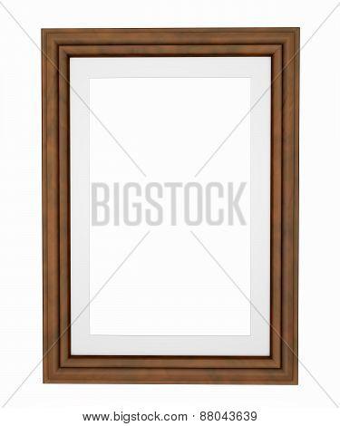 Wooden Rectangular 3D Photo Frame