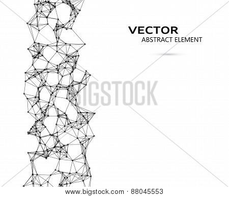 Vector Element Of Abstract Cybernetic Particles