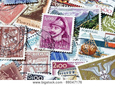 Portugal on stamps