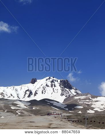 Ski Resort In Spring