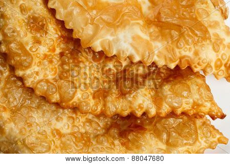 Empanada or Cheburek. Meat Pie