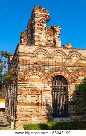 Ruined Church Of Christ Pantokrator, Nessebar