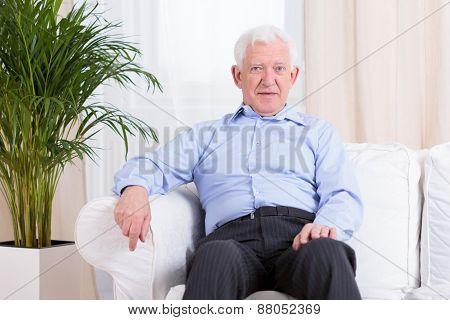 Elegant Senior Man