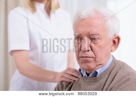 Desperate Sad Pensioner