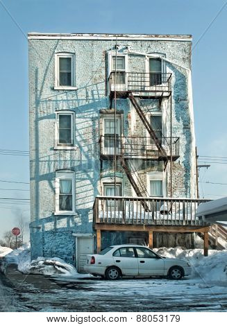 Old Apartment Building