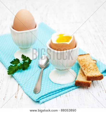 Breakfast With Eggs And Toast