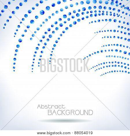 Blue Bubble Design.