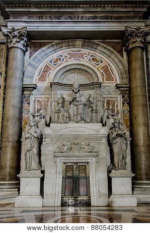 Saint Peter's Cathedral In Vatican