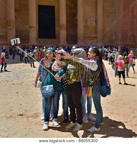 Selfie In Petra