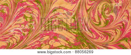 Ebru Pink Yellow