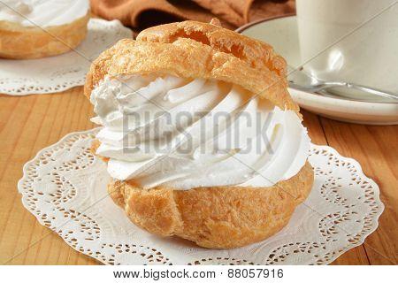 Large Cream Puff