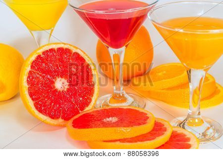 Fruit Juice From Citrus