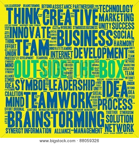 Outside the Box Word Cloud