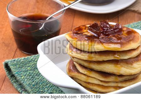 Pancakes With Jam