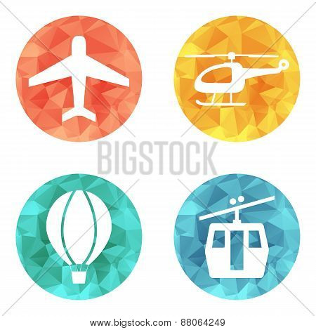 Airline Transport Icons