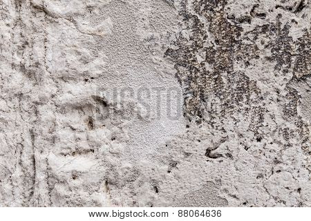 Rough Texture Of An Ancient Stone Block