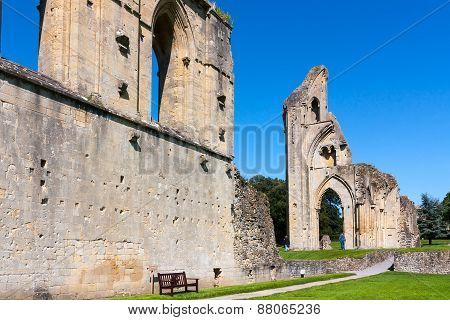 Glastonbury Abbey Somerset
