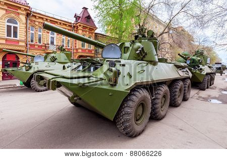 Nona-svk 120Mm Self-propelled Mortar Carrier