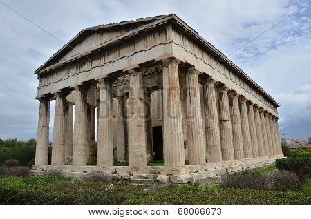 View of Hephaistos Temple