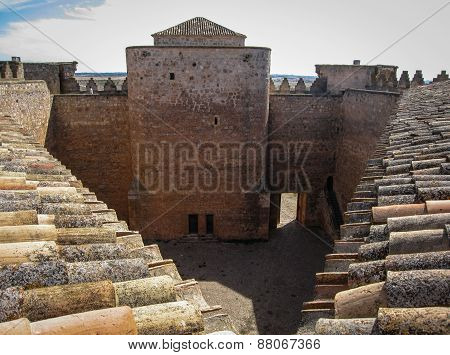 Belmonte Castle, Castilla La Mancha, Spain