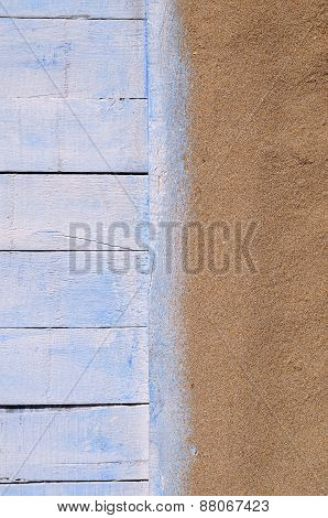 Wood And Sand.