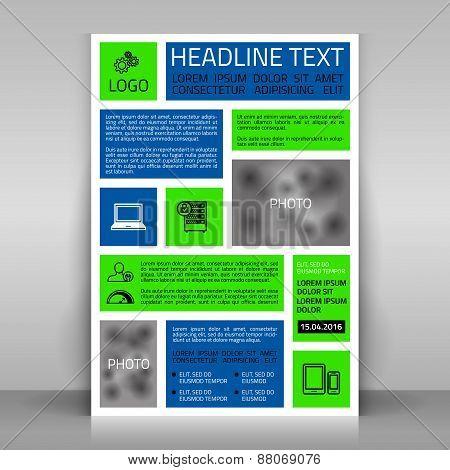 Modular Business Flyer.