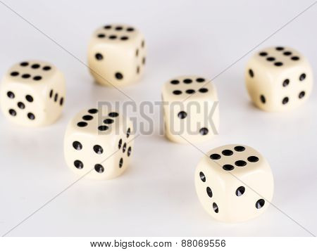 Six Dice With Six