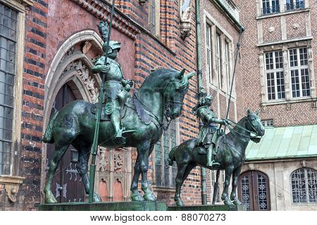 Knight Statue in Bremen