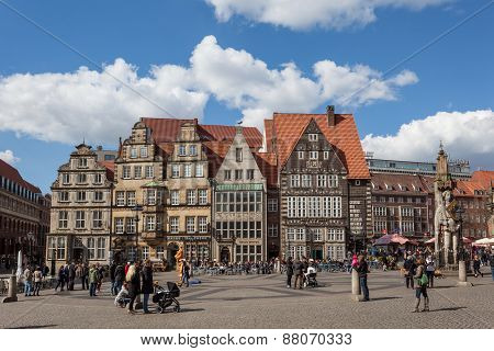 Main Square in Bremen, Germany