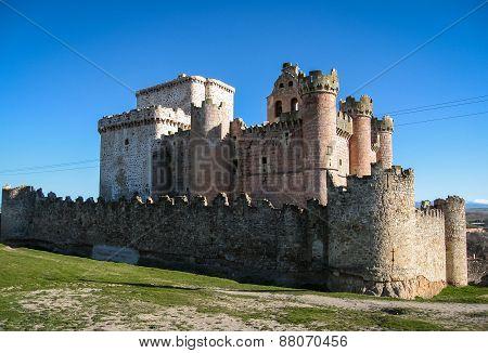 Turegano Castle, Castilla Y Leon, Spain