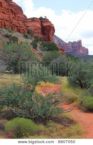 Red Rock Trail in Sedona, Arizona