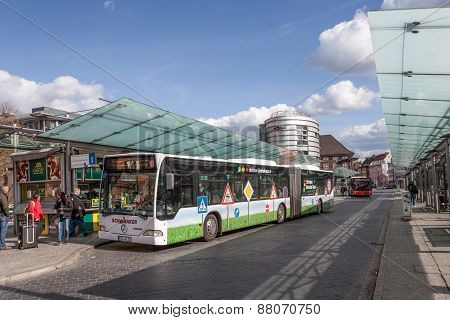 Bus Station in Bremen