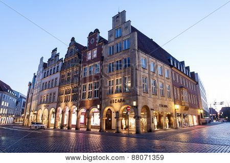Historic Buildings In Munster, Germany