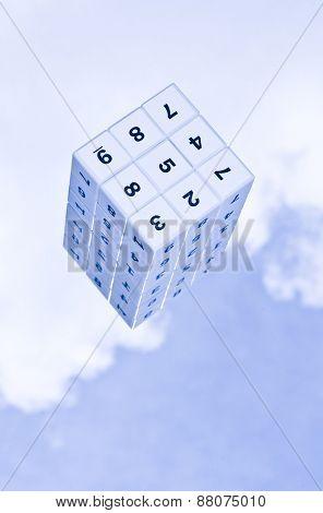 3d Sudoku cube