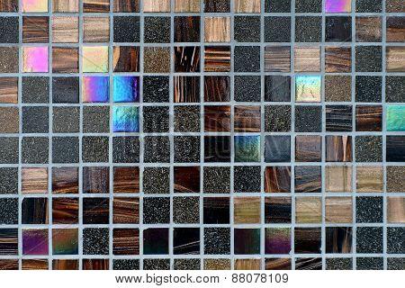 Colorful Mosaic Tiles Wall
